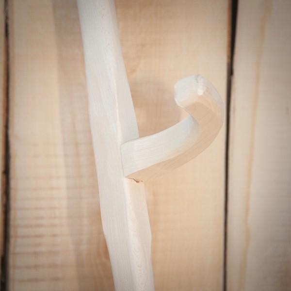 Coada coasa din lemn de fag, fabrica Adidac