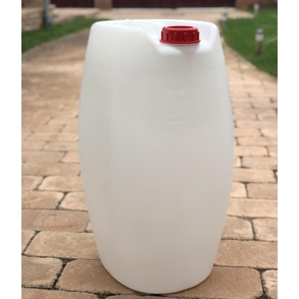 canistra 60 litri plastic cu maner si capac etans